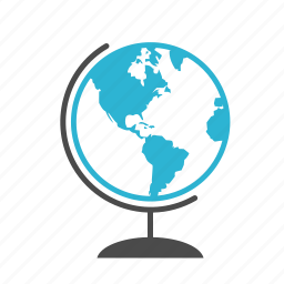earth, geography, globe, location, map, planet, world icon