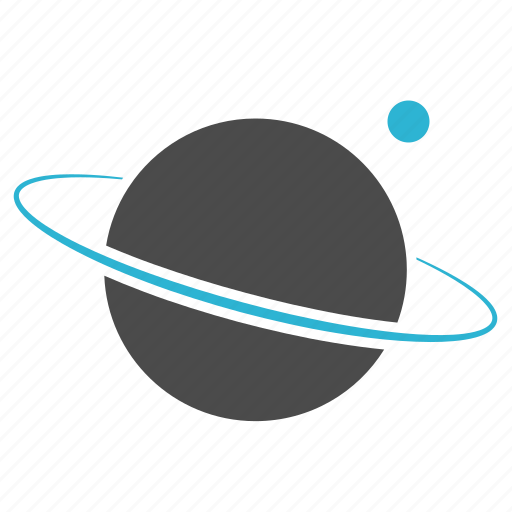 astronomy, cosmos, globe, planet, saturn, science, space, study icon