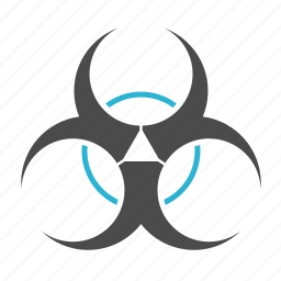 atomic, attention, chemistry, danger, energy, power, radiation, science icon