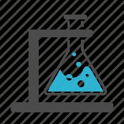 burner, chemistry, explore, laboratory, medicine, research, science, test-tube icon