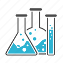 chemistry, experiment, explore, laboratory, research, science, test-tube, tubes icon