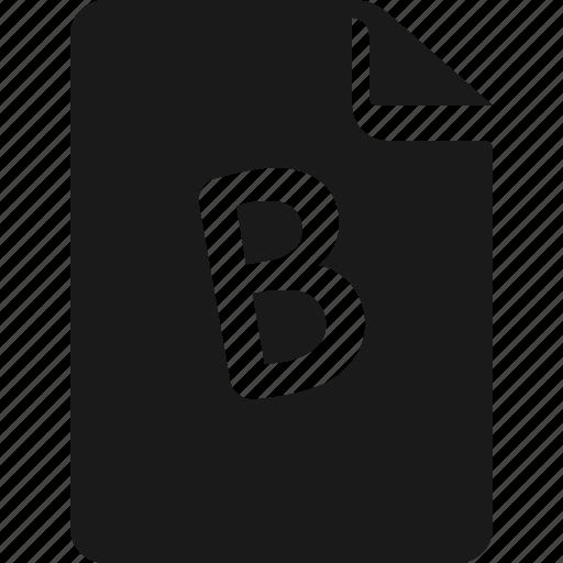 b, result, sheet, test icon