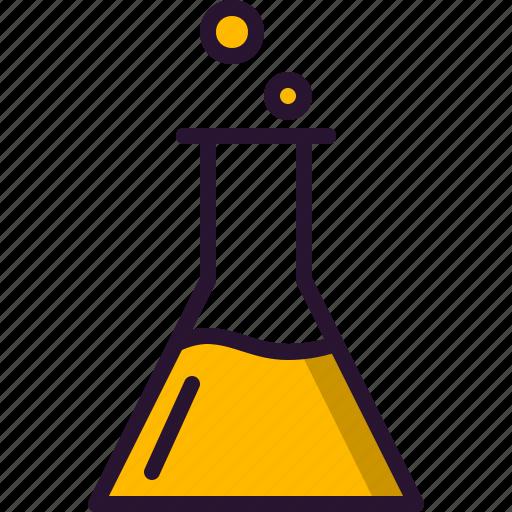 becker, education, lab, medicine, science, test, tube icon