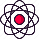 athom, chemistry, education, electron, science icon