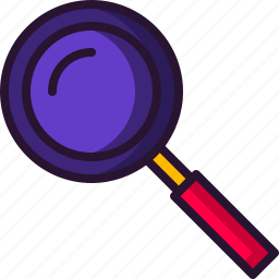 education, magnifying glass, research, school, science, search icon