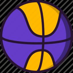 ball, basketball, education, play, school, science, sport icon