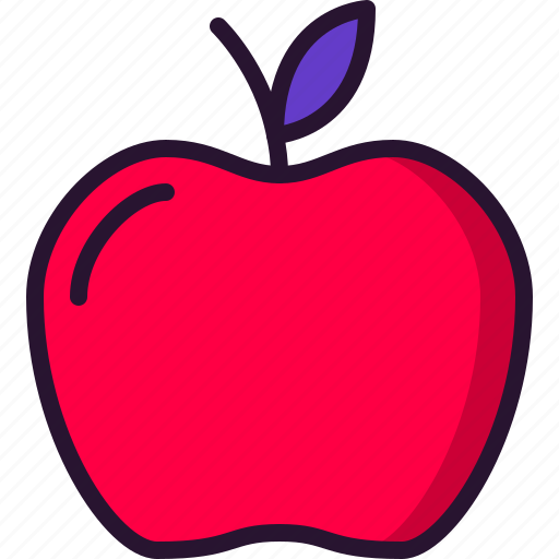 apple, education, fruit, knowledge, newton, school, science icon