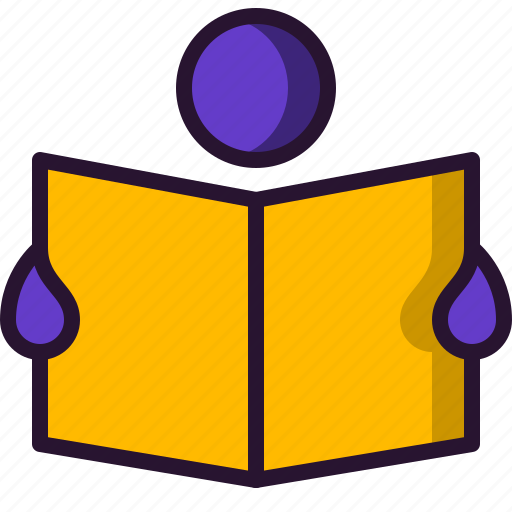 book, education, newspaper, reading, science, student, study icon
