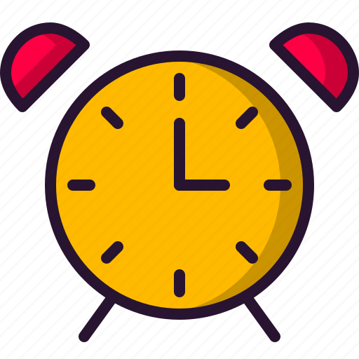alarm, clock, education, school, science icon