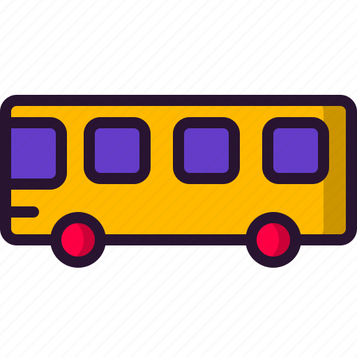 bus, car, education, school, science, wheel icon