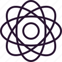 athom, chemistry, education, electron, school, science icon