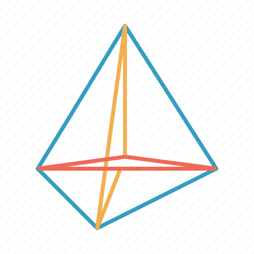 figure, polygone, science, scientific, shape, triangle icon