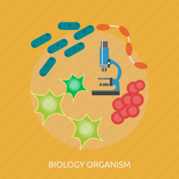 biology, cell, chemistry, experiment, medicine, organism, science icon