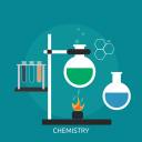 chemistry, experiment, formula, laboratory, molecule, research, science icon