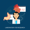 doctor, experiment, health, lab, medical lab, research, science icon
