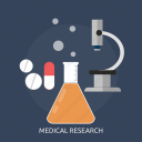 diagnosis, medical, medicine, microscope, pharmacy, research, science icon