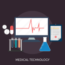 analyze, healthcare, hospital, medicine, pharmacy, science, technology icon