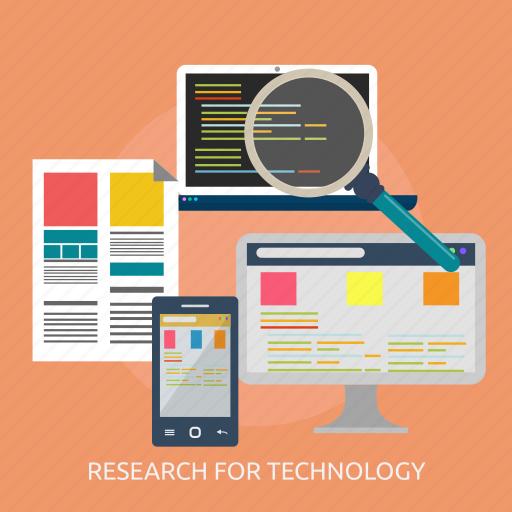 build, design, development, futuristic, modern, research, technology icon