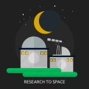 astronomy, discovery, observatory, research, space, telescope, universe icon