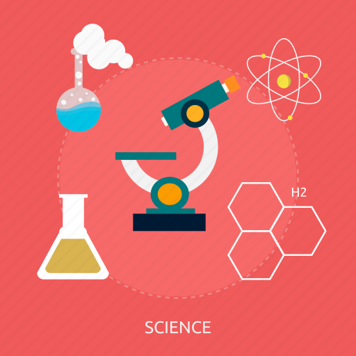 chemistry, dna, experiment, formula, microscope, molecule, science icon