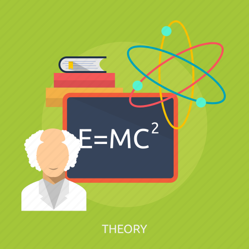 education, einstein, formula, mathematics, physics, science, theory icon
