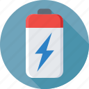 battery, battery power, charging, mobile battery, thunder icon