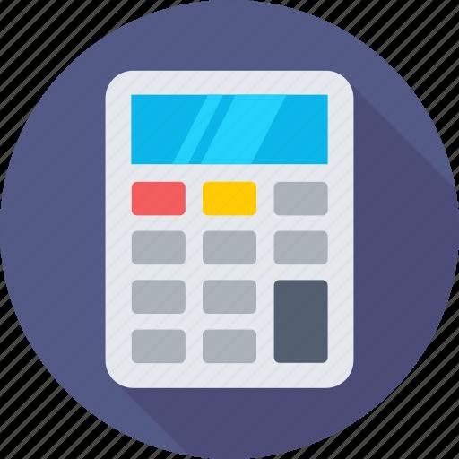 accounting, calc, calculation, calculator, mathematics icon