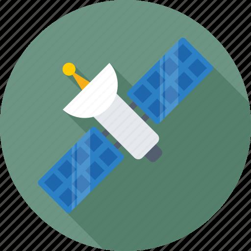 broadcasting, radar, satellite, satellite antenna, space icon