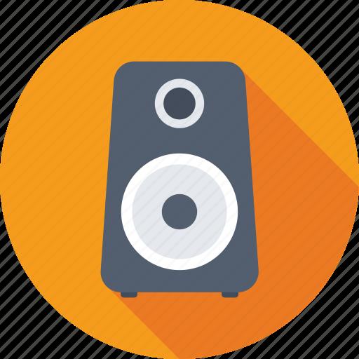 loudspeakers, speaker, speaker box, subwoofer, woofer icon