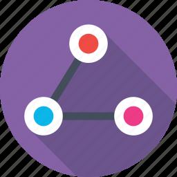 computing, computing share, connectivity, network, share icon