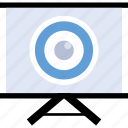 board, eye, learning, sight icon