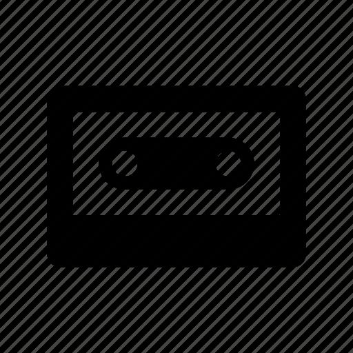 Audio, audio cassette, cassette, music cassette, tape deck icon - Download on Iconfinder