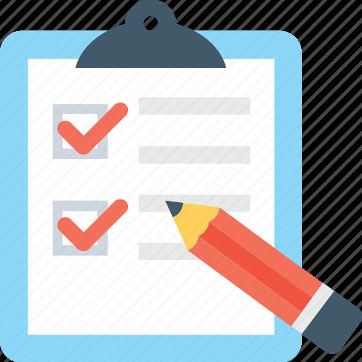 checklist, clipboard, list, tick, to do icon