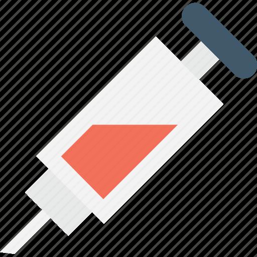 injecting, injection, intravenous, syringe, vaccine icon