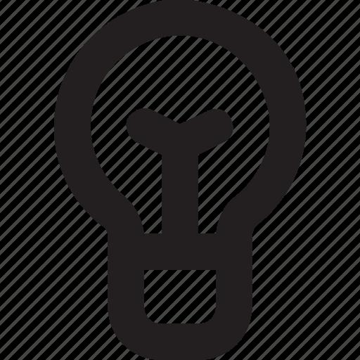 bulb, idea, idea bulb, light bulb, science icon