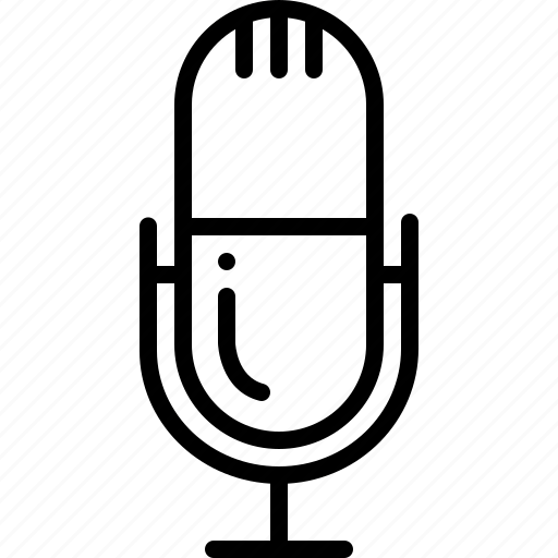 Device, mic, microphone, speech icon - Download on Iconfinder