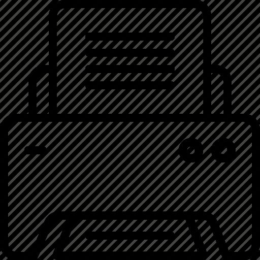 copier, printer, printing icon