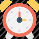 alarm, clock, timekeeper, timepiece icon