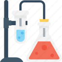 chemical, experiment, flask, research, test tube icon