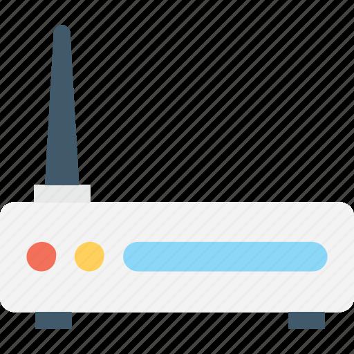 broadband, internet, internet booster, modem, router icon