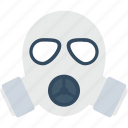 gas mask, industry, pollution, respirator, safety mask icon