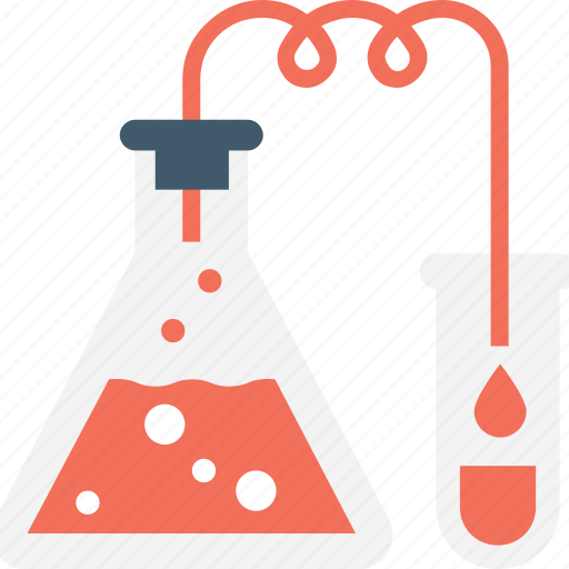 chemical, conical flask, flask, laboratory, research icon
