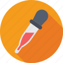 chemical dropper, dropper, pipet, pipette, pipettor icon