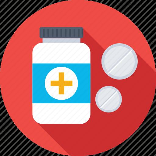 drugs, jar, medical pills, medicine, medicine jar icon
