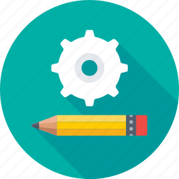 cogs, compose, maintenance, preferences, repair icon