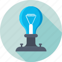 bulb, idea, idea bulb, light bulb, science icon