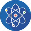 atom bond, science, electron, molecular, atom icon
