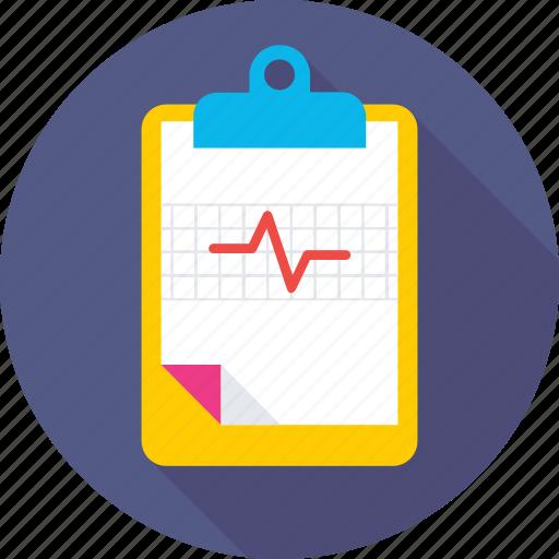heartbeat, lifeline, medical report, pulsation, pulse icon
