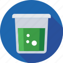 chemical, erlenmeyer, experiment, jar, water icon