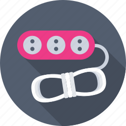 cable, cable extension, cord, extension, plug icon